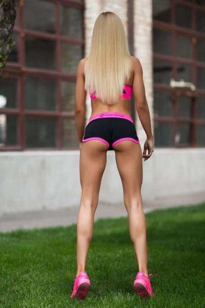 Комплект Basic Pink (топ+шорты), фото №1 - Designed For Fitness