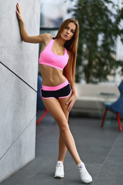 Шорты Basic Pink, фото №1 - Designed For Fitness