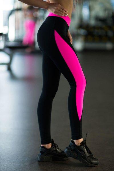 Леггинсы Basic Pink, фото №1 - Designed For Fitness