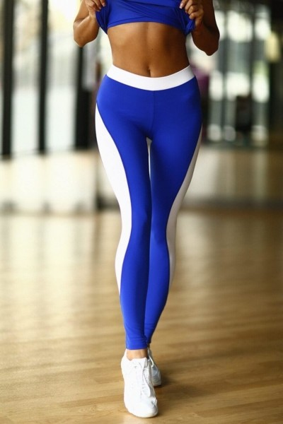 Леггинсы Basic Blue, фото №1 - Designed For Fitness