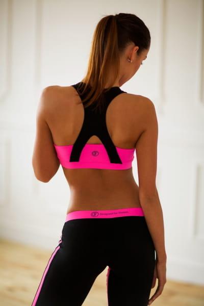 Топ Basic Pink, фото №1 - Designed For Fitness