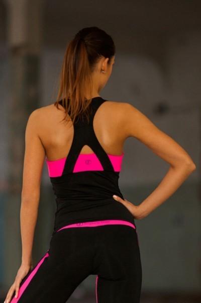 Топ Basic Pink (удлиненный), фото №1 - Designed For Fitness