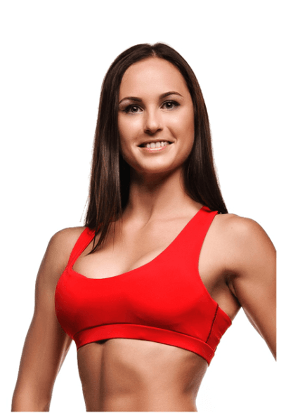 Топ Basic Red, фото №1 - Designed For Fitness