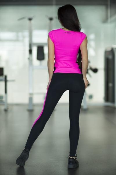 Комплект Pink T-shirt (футболка+лосины), фото №1 - Designed For Fitness