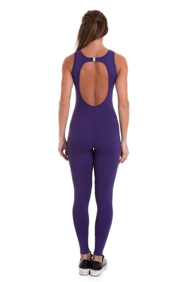 Комбинезон Cajubrasil NZ Laser Classic (фиолетовый) - Designed For Fitness