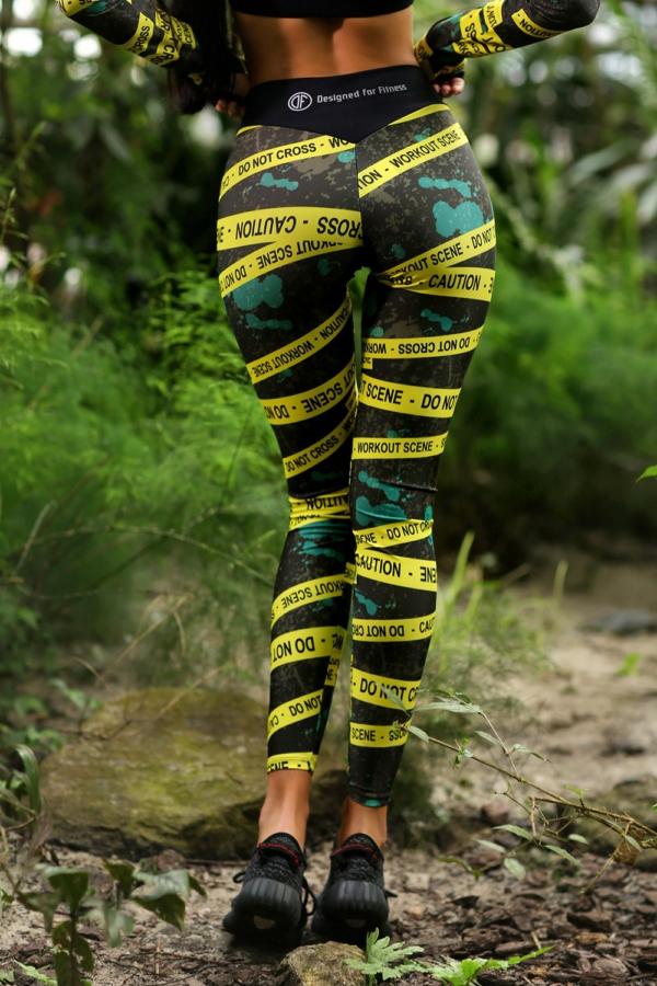 Спортивные леггинсы Caution - Designed For Fitness