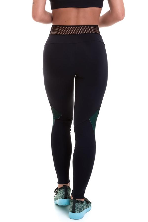 Легинсы NZ Vitality (черные), фото №1 - Designed For Fitness