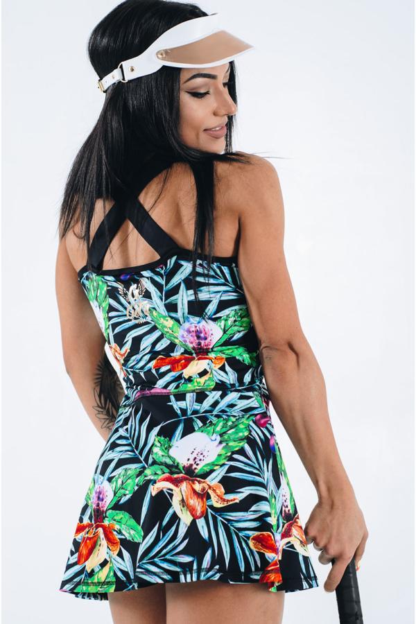 Спортивное платье GoFit Jungle, фото №1 - Designed For Fitness