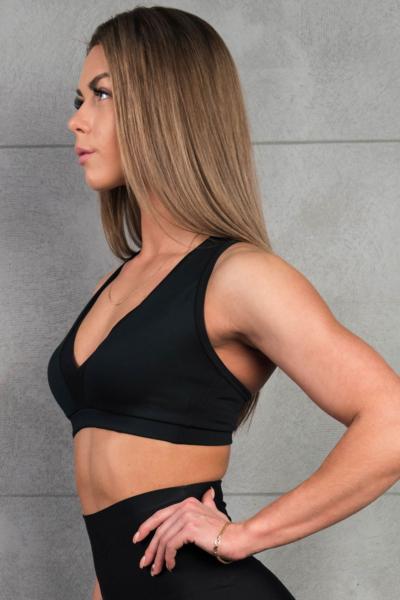 Спортивный топ Omnia Daenerys Black, фото №1 - Designed For Fitness