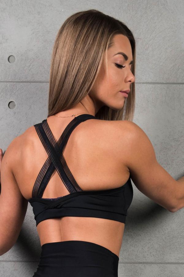 Спортивный топ Omnia Daenerys Black - Designed For Fitness