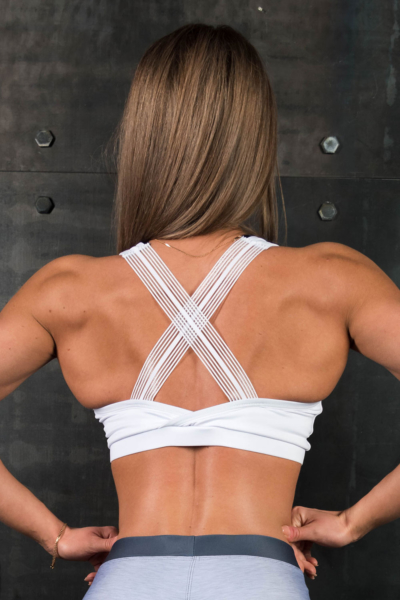 Спортивный топ Omnia Daenerys White, фото №1 - Designed For Fitness