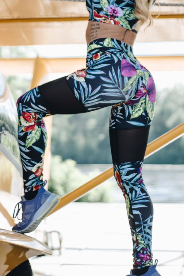 Спортивные леггинсы GoFit Jungle - Designed For Fitness