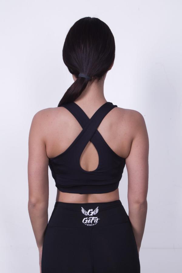 Спортивный топ GoFit Black - Designed For Fitness