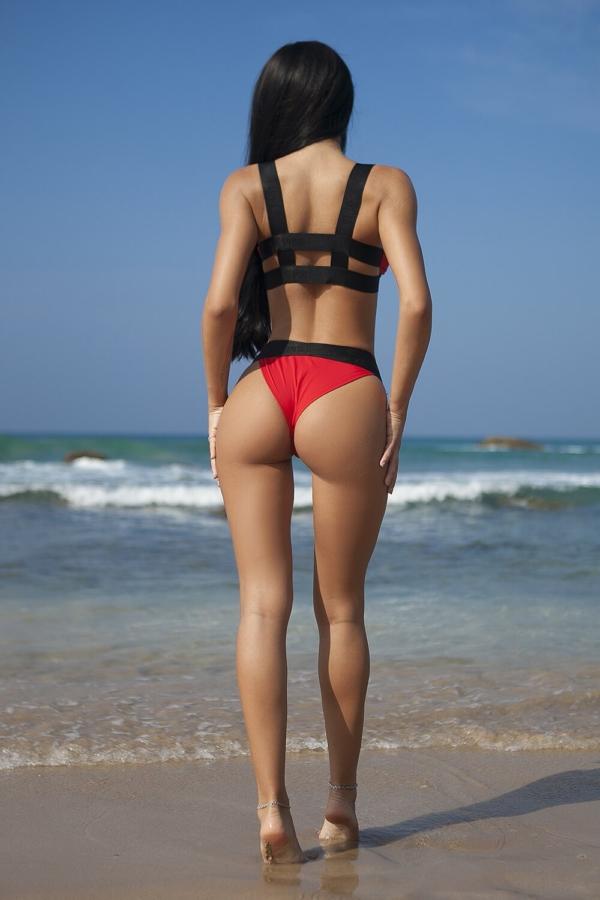 Купальник Rimini Rosso, фото №1 - Designed For Fitness