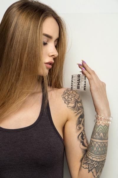 Силиконовая резинка для волос Invisible (5 шт), фото №1 - Designed For Fitness