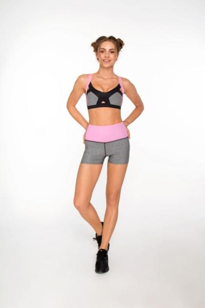 Комплект PRO Jersey Milkshake (топ+шорты), фото №1 - Designed For Fitness