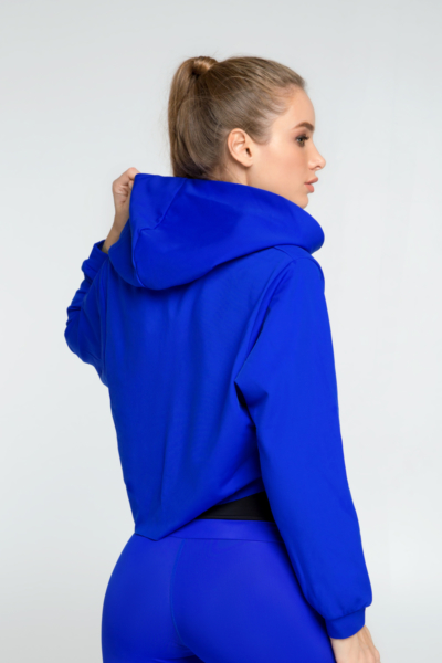 Худи Royal Blue, фото №1 - Designed For Fitness