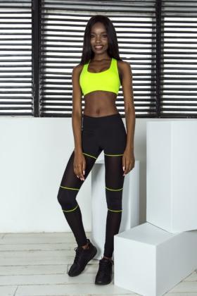 3cf775e867f Костюм для фитнеса DF Sexy Biker Shorts Lemon - женская спортивная одежда  Designed For Fitness ...