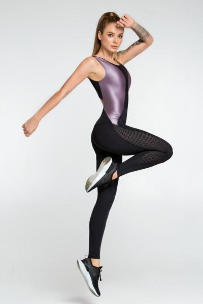 Комбинезон Disco Violet DF, фото №1 - Designed For Fitness