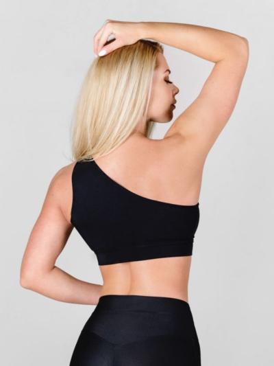 Спортивный топ для фитнеса Omnia Gracia Black, фото №1 - Designed For Fitness