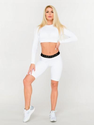 Спортивные велосипедки для фитнеса Omnia White, фото №1 - Designed For Fitness