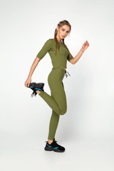 Костюм Lounge Green DF, фото №1 - Designed For Fitness