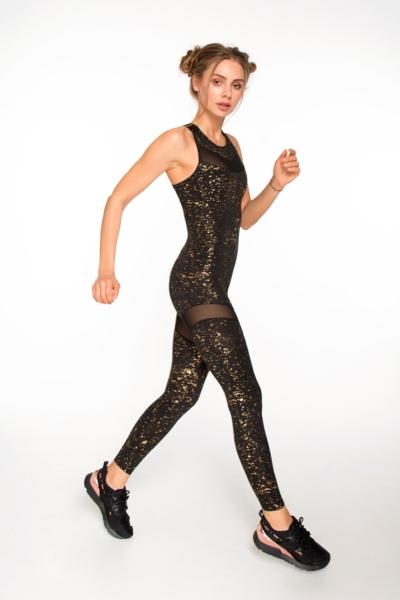 Комбинезон Stardust Gold DF, фото №1 - Designed For Fitness