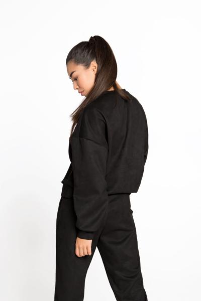 Спортивный костюм Winter Chill Black DF, фото №1 - Designed For Fitness