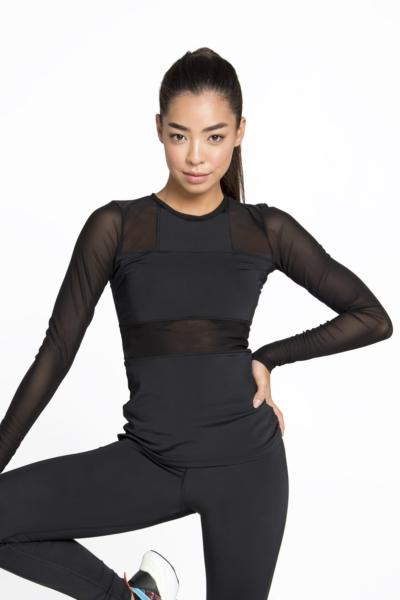 Рашгард Crazy Basic Black DF, фото №1 - Designed For Fitness