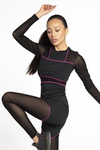 Спортивный комплект Crazy Basic Pink DF, фото №1 - Designed For Fitness
