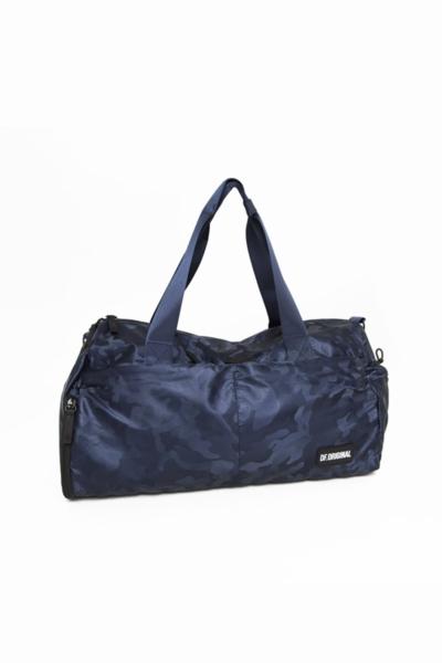 Спортивная сумка большая DF Military Blue, фото №1 - Designed For Fitness