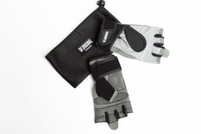 Женские перчатки для фитнеса DF Original Silver, фото №1 - Designed For Fitness