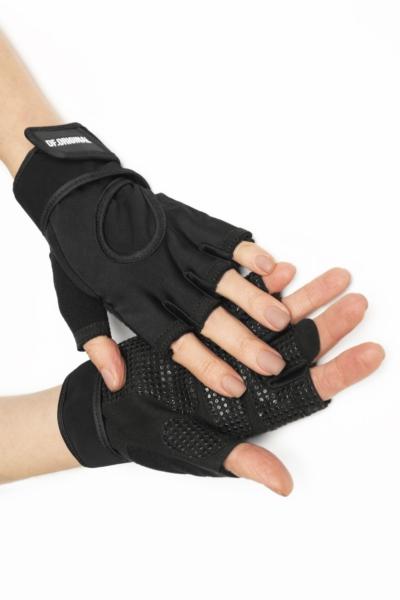 Женские перчатки для фитнеса DF Original Black, фото №1 - Designed For Fitness