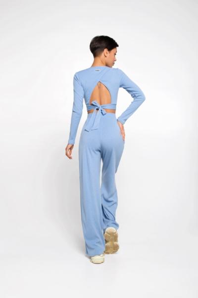 Спортивный костюм Rubby Dusty Blue DF, фото №1 - Designed For Fitness