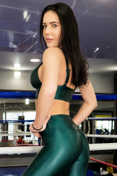 Спортивный топ для фитнеса TotalFit Flash Emerald, фото №1 - Designed For Fitness