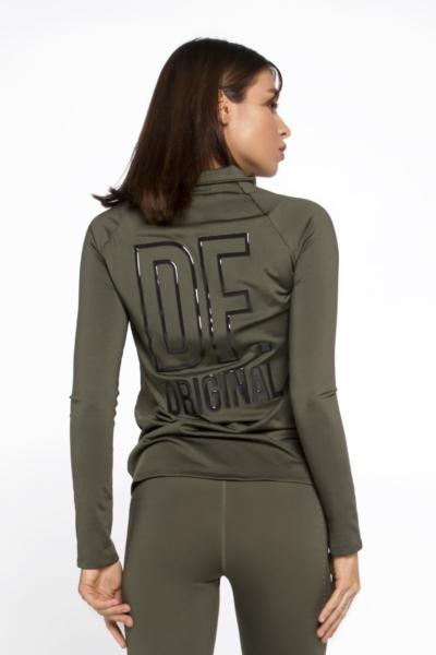 Спортивная курточка DF Original Khaki, фото №1 - Designed For Fitness