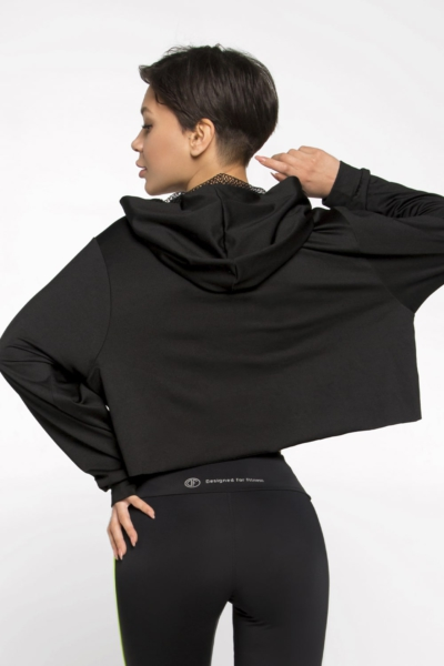 Худи Basic New Black DF, фото №1 - Designed For Fitness
