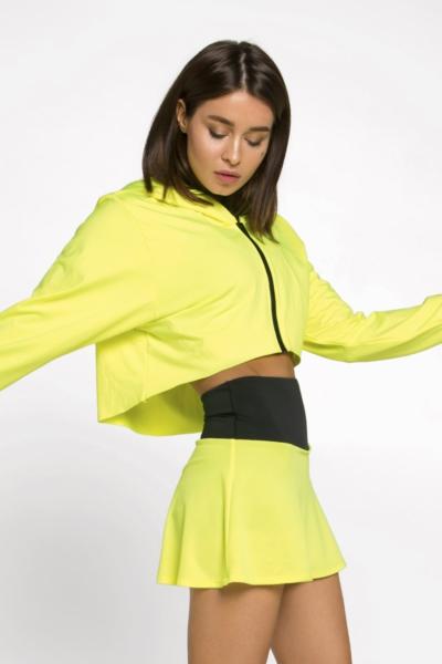 Худи Basic New Lemon DF, фото №1 - Designed For Fitness