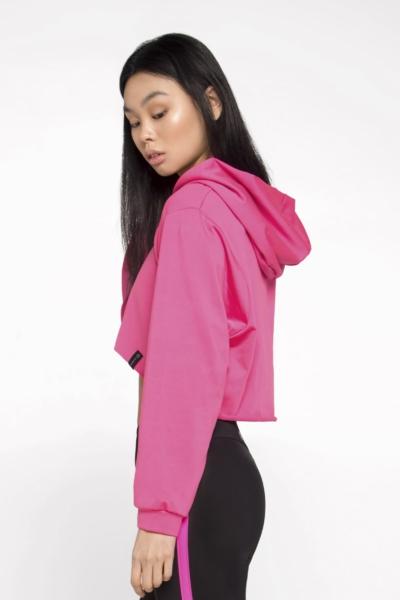 Худи Basic New Pink DF, фото №1 - Designed For Fitness