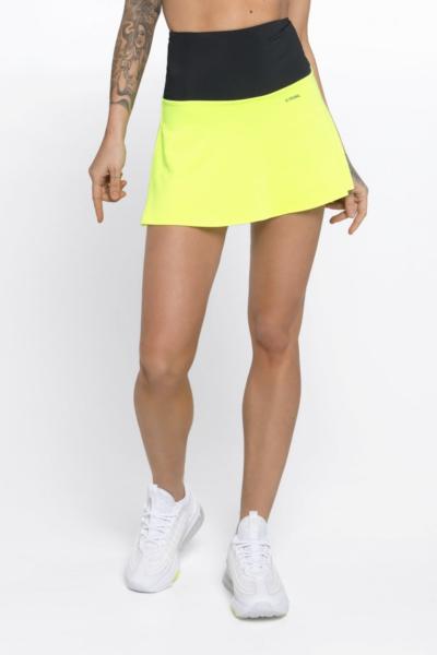 Юбка-шорты New Basic Lemon DF, фото №1 - Designed For Fitness