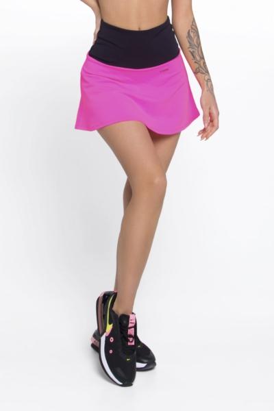 Юбка-шорты New Basic Pink DF, фото №1 - Designed For Fitness