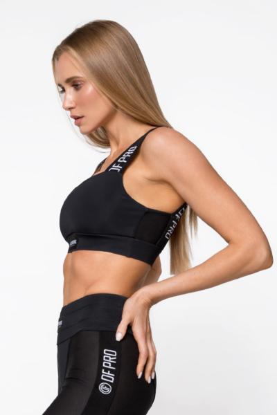 Топ бра PRO Black DF, фото №1 - Designed For Fitness