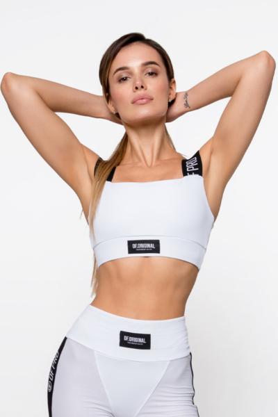Топ бра PRO Bianco DF, фото №1 - Designed For Fitness