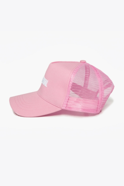 Спортивная бейсболка DF ORIGINAL Pink, фото №1 - Designed For Fitness
