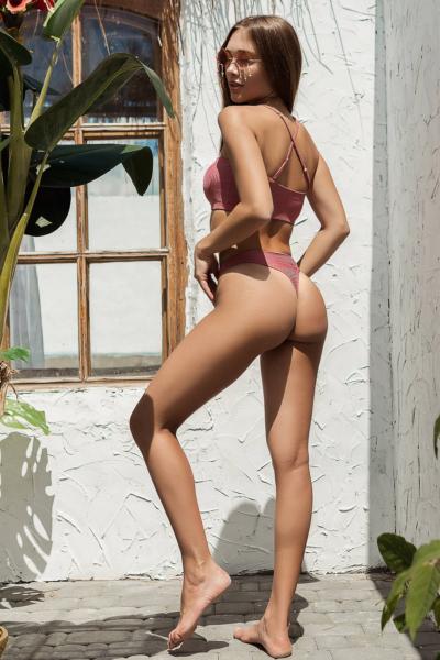 Купальник раздельный Totalfit Bando Rose, фото №1 - Designed For Fitness