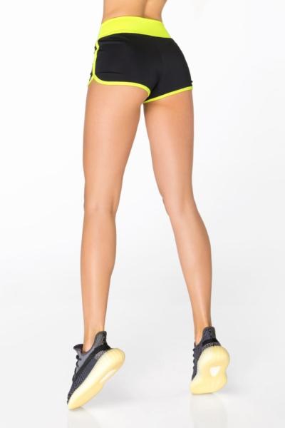 Шорты New Basic Lemon DF, фото №1 - Designed For Fitness