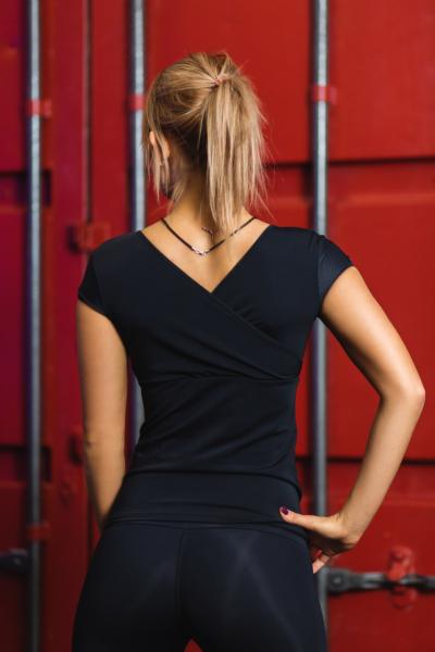 Спортивная футболка TotalFit Black, фото №1 - Designed For Fitness