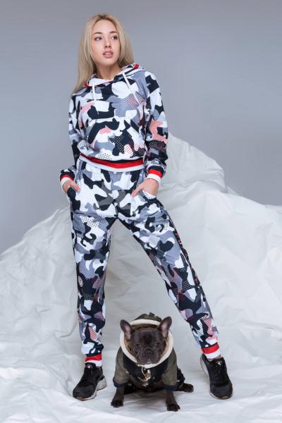 Комплект утепленный TotalFit Camo Grey, фото №1 - Designed For Fitness