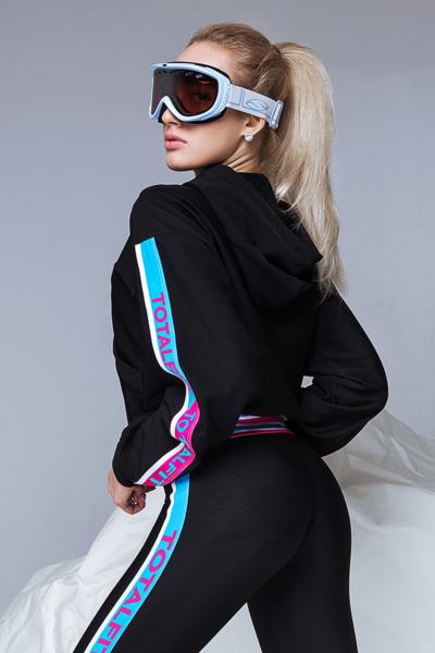 Худи TotalFit Candy Black, фото №1 - Designed For Fitness