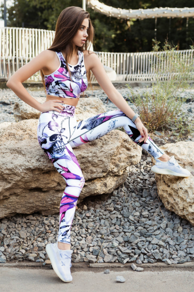 Комплект для фитнеса TotalFit Corsar White, фото №1 - Designed For Fitness
